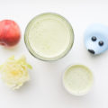 Green cleanser juice met romaine sla en nectarine