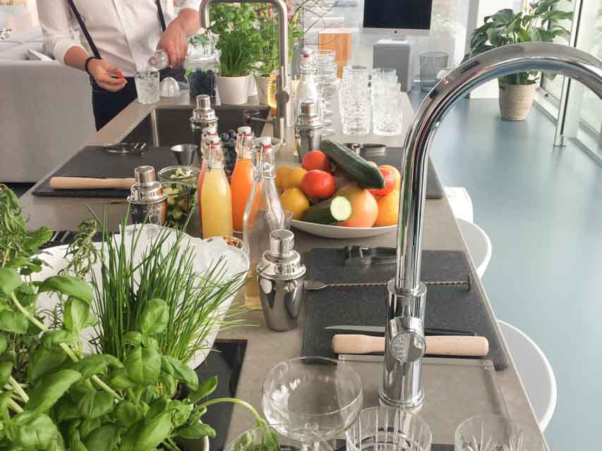Grohe Event met Cocktail Workshop