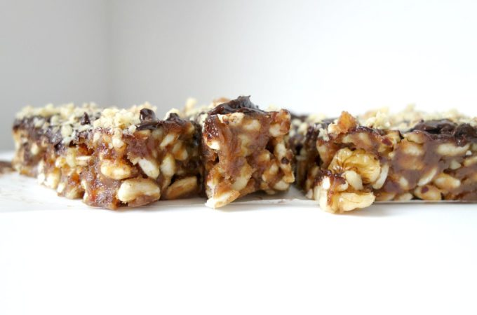 Anne's Healthy Snickers Repen met Pindakaas