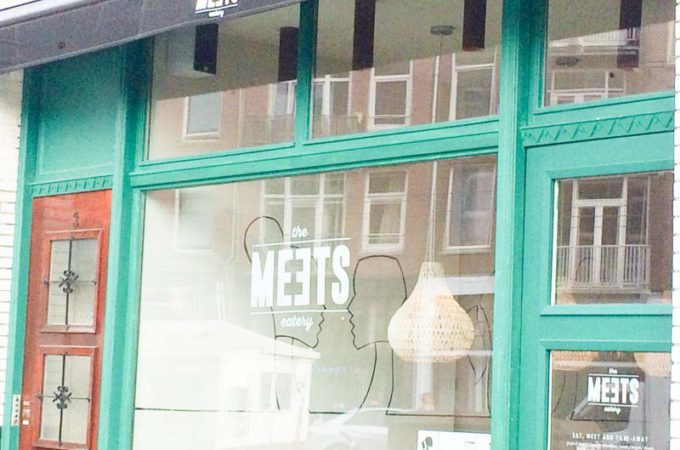 Gezond lunchen in De Pijp: The Meets Eatery