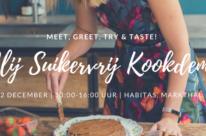 Kookdemonstratie, Meet & Greet op 2 en 16 december